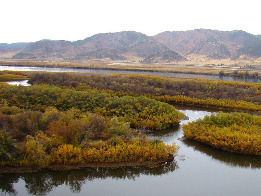 Фотография реки Селенга
