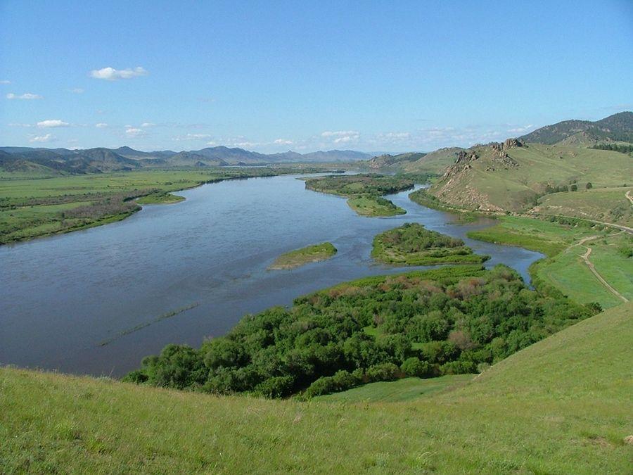 Река Селенга фото Бурятии