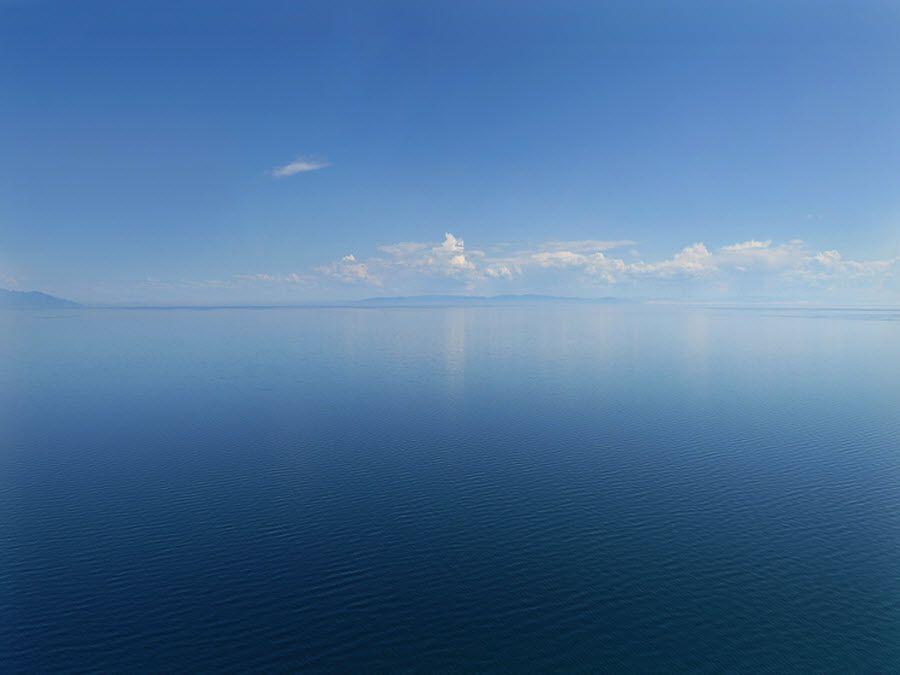 Фото озера в заповеднике Брянский лес