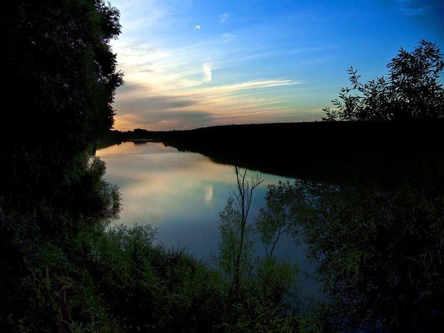 Вид на реку Дон из музея-заповедника Куликово поле фото