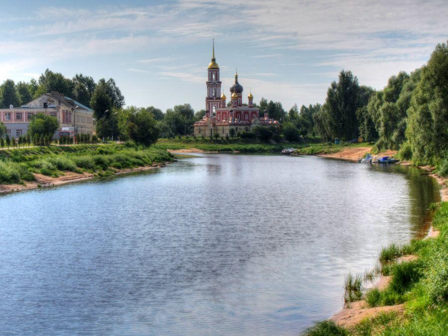Фото панорама Воскресенского собора