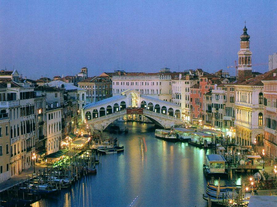 Мост Риальто в Венеции фотография