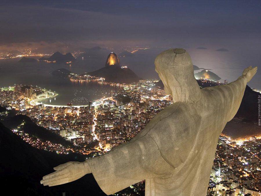 Ночной Рио-де–Жанейро фото