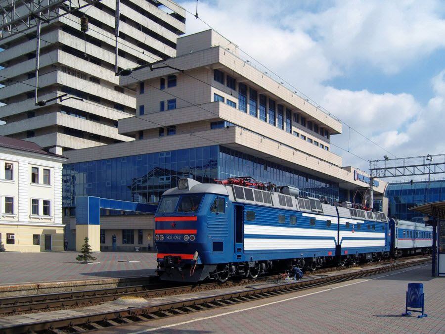 Фото вокзала в Ростове