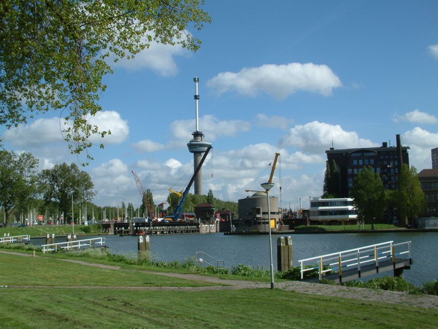 Фотография Евромачты в Роттердаме