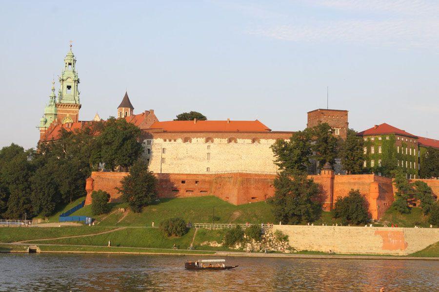 Королевский замок в Кракове фотография