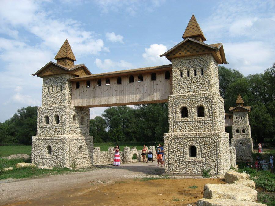 Фото архитектуры Сафари-парка