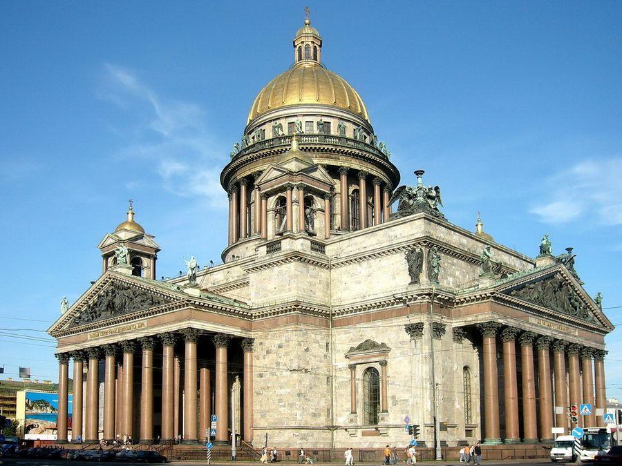 Фотография Исаакиевского собора в Санкт-Петербурге