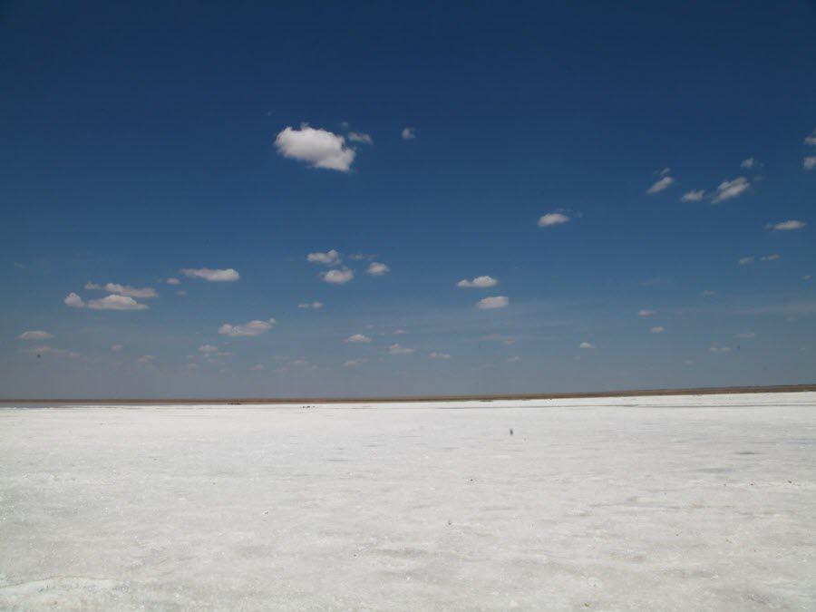 Фото озеро Эльтон вид днем