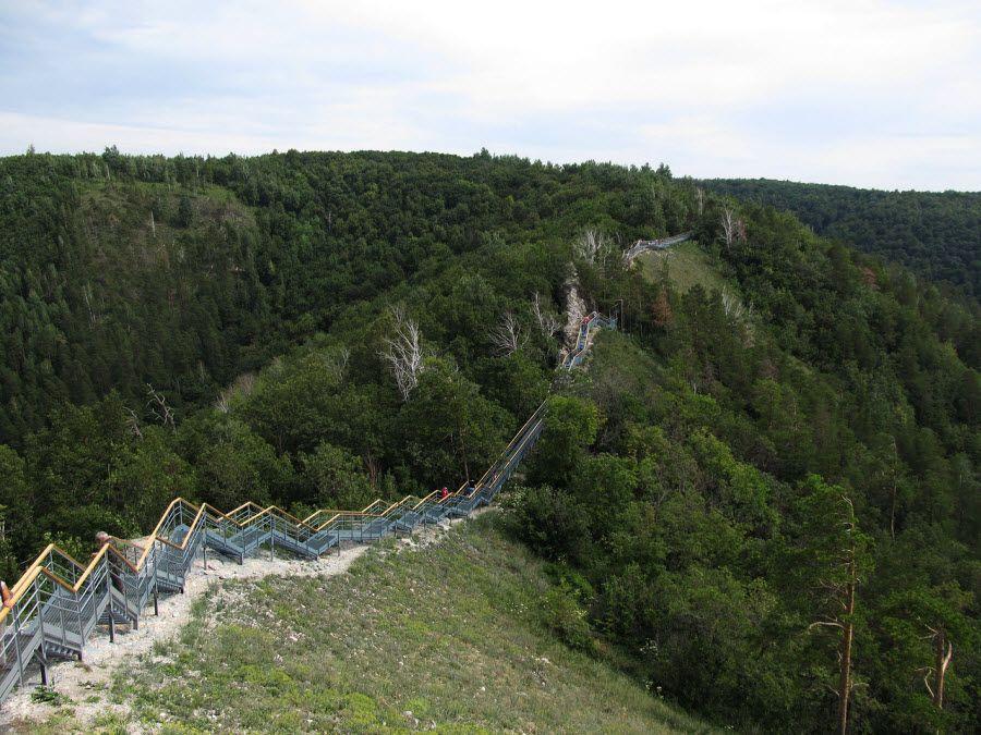 Чертов мост Самарской луки фото
