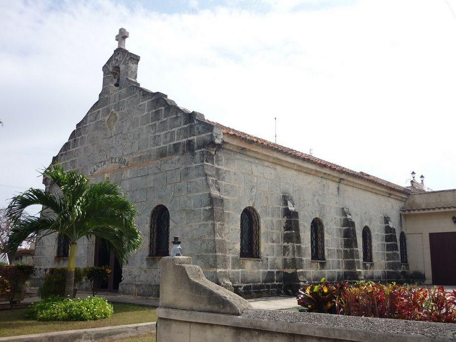 Фото церкви Иглесиа-де-Санта-Эльвира в Варадеро