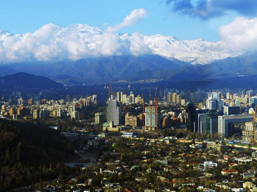 Фото Сантьяго – столица Чили