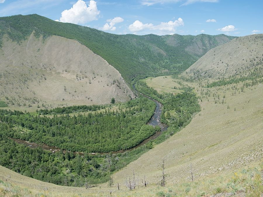 Сарминское ущелье фото вид сверху