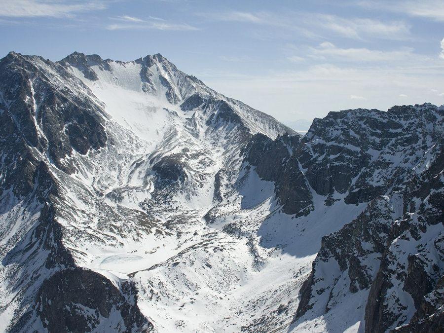 Фотография горы Мунку-Сардык