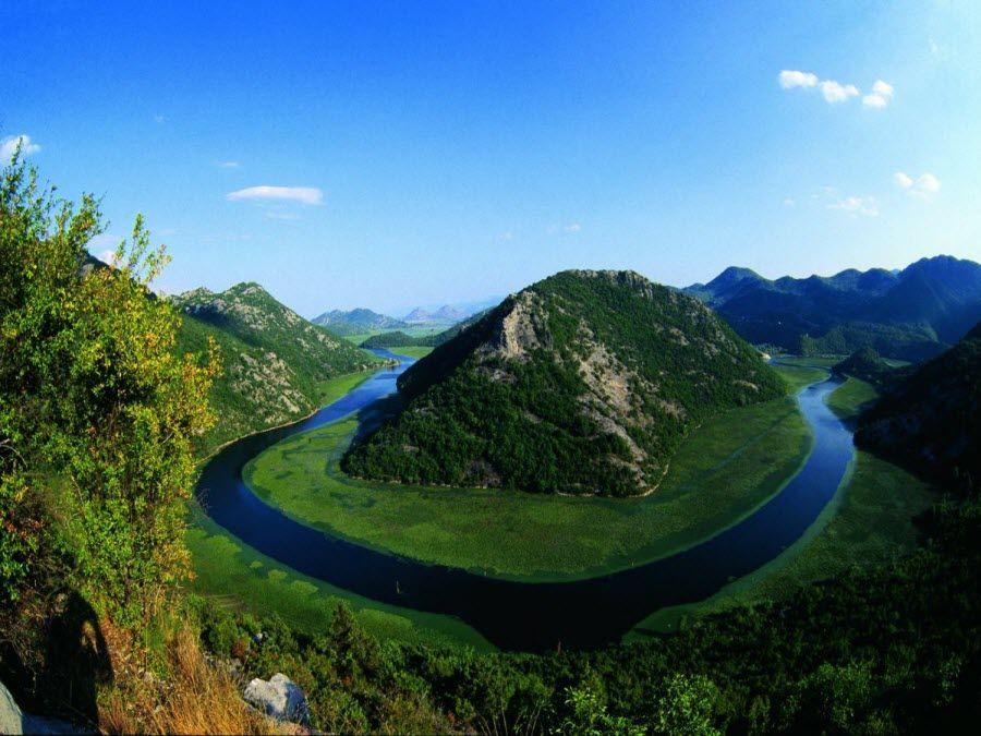 Фото озера Скурати в национальном парке