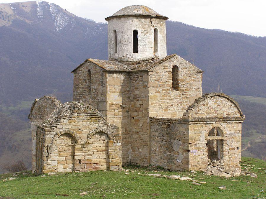 Сентинский храм фото Карачаево-Черкессии