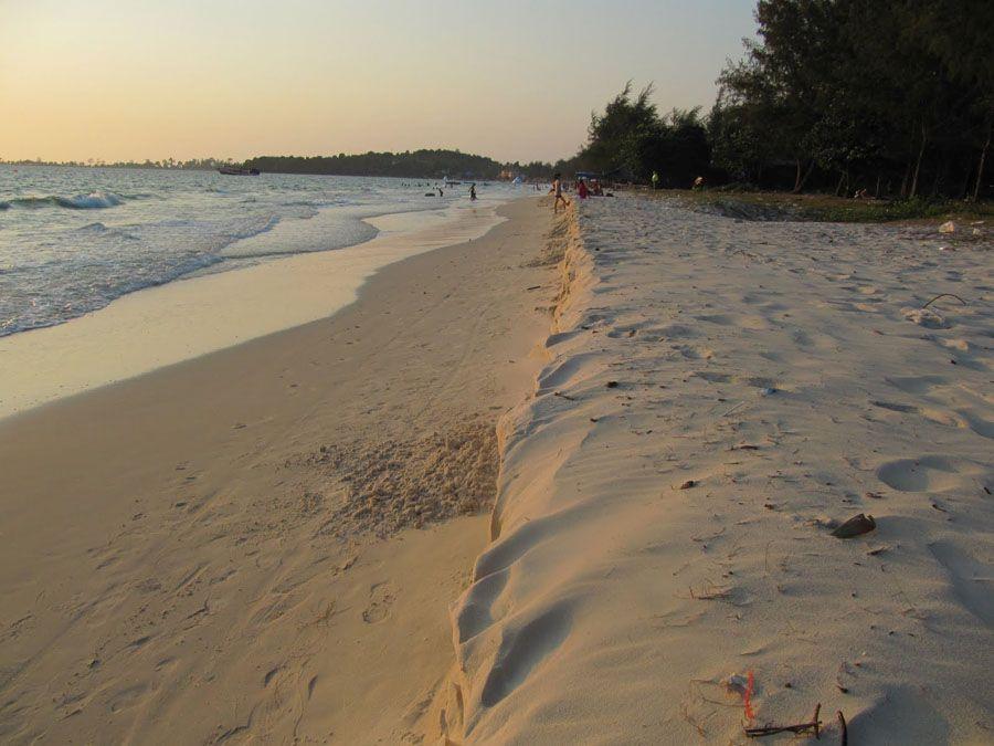 Пляж Сиануквиля фотография