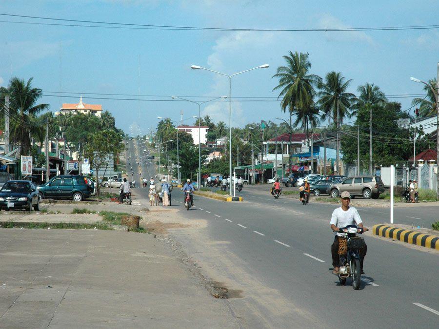 Улицы Сиануквиля фото