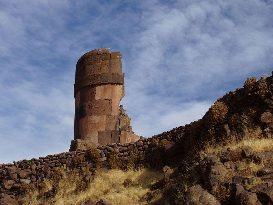 Сильустани погребальная башня фото