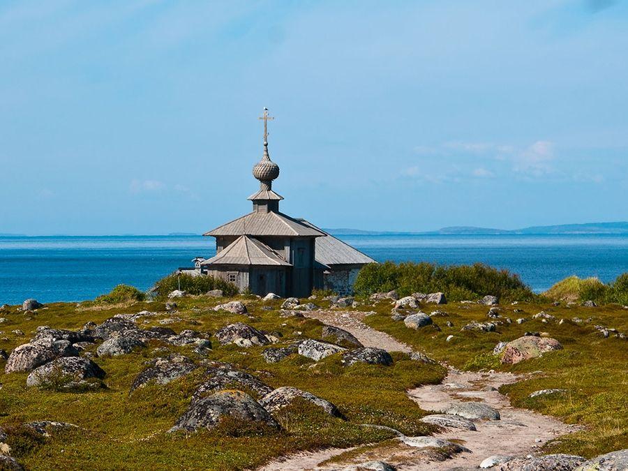 Фотография Андреевского скита на Соловецких островах