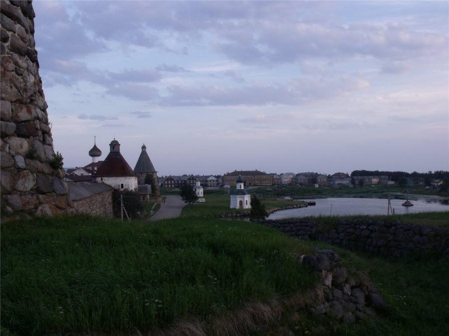 Панорама Соловецких островов фото