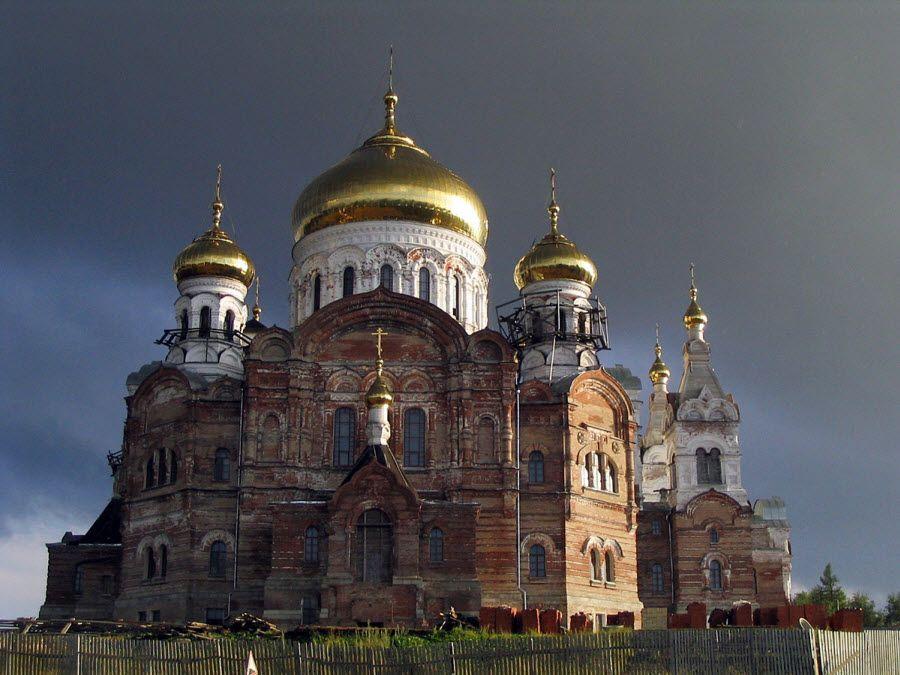 Соловецкий монастырь вблизи фото