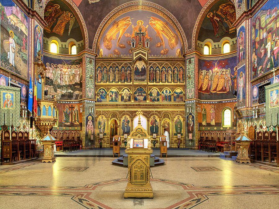 Фото внутреннего убранства Софии Киевской