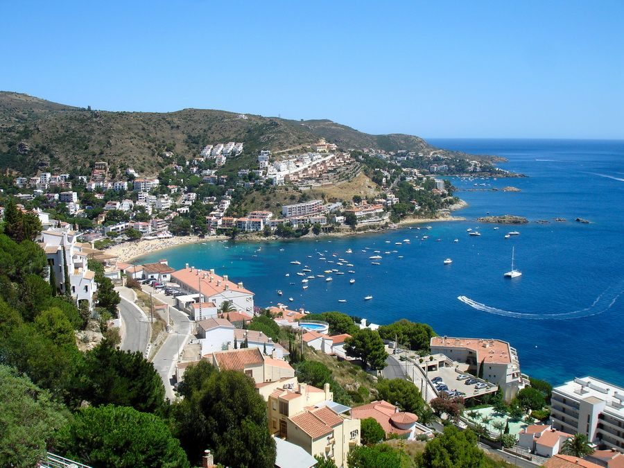 Фотография побережья Испании