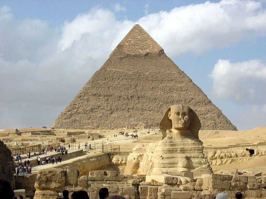 Египетский сфинкс фото спереди