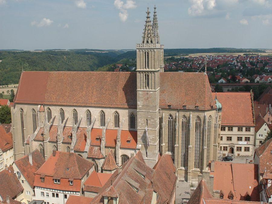 Фото церкви св. Иакова в Ротенбурге