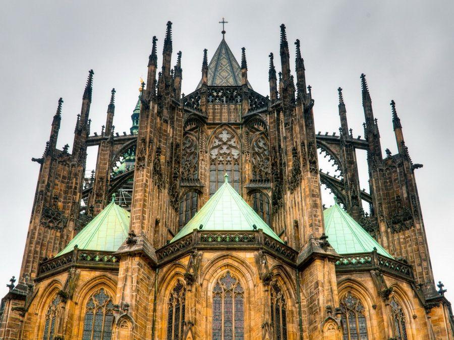 Собор святого Вита фото Праги