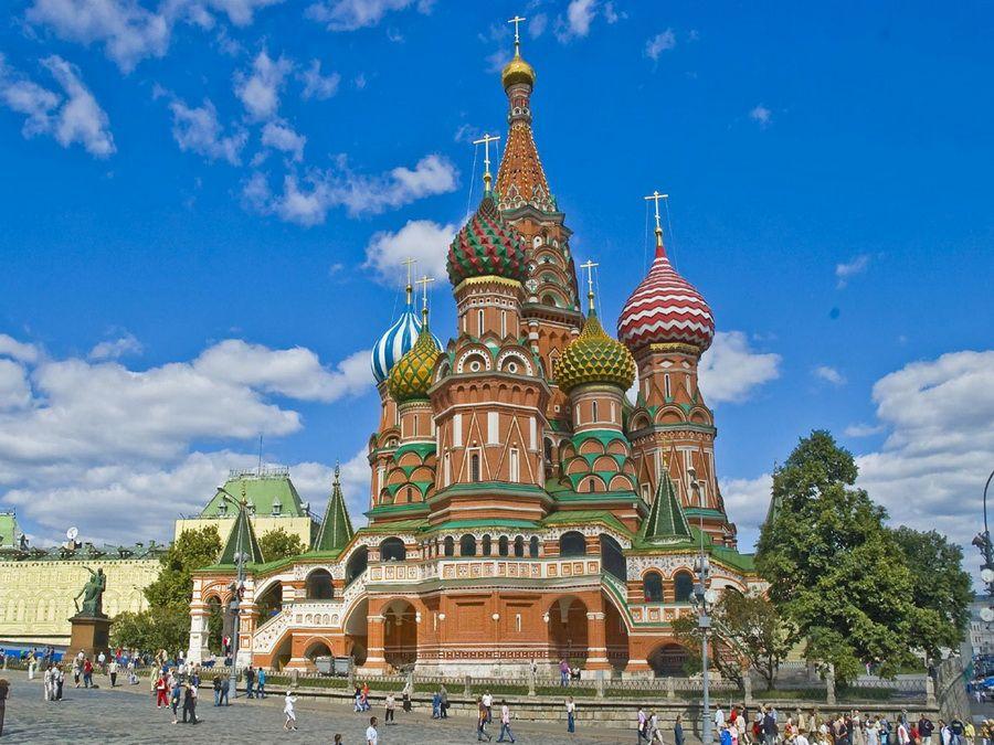 Собор Василия Блаженного фотография Москвы
