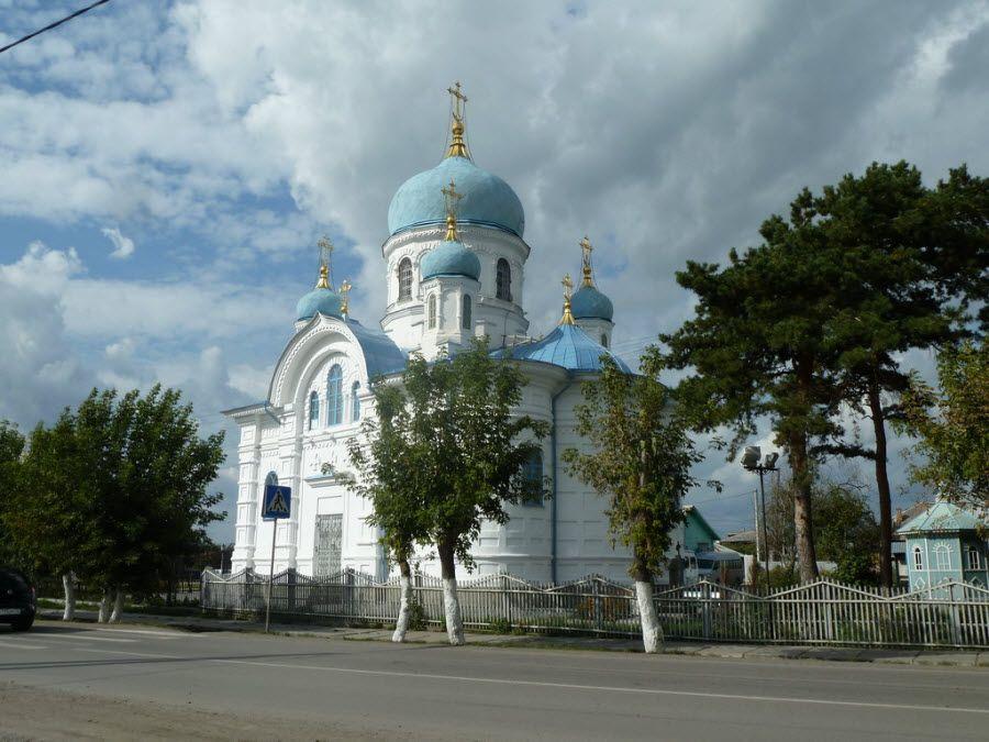 Никольская церковь г. Ишим фото