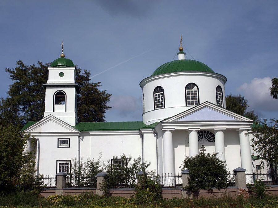Свято-Никольская церковь в Красноярске фото