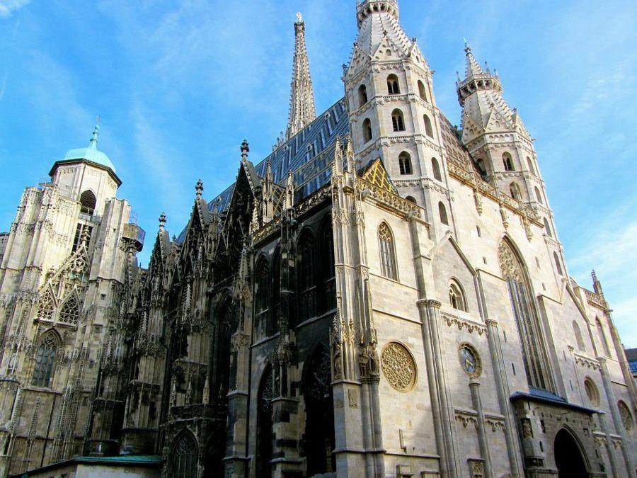 Собор святого Стефана в Вене фотография
