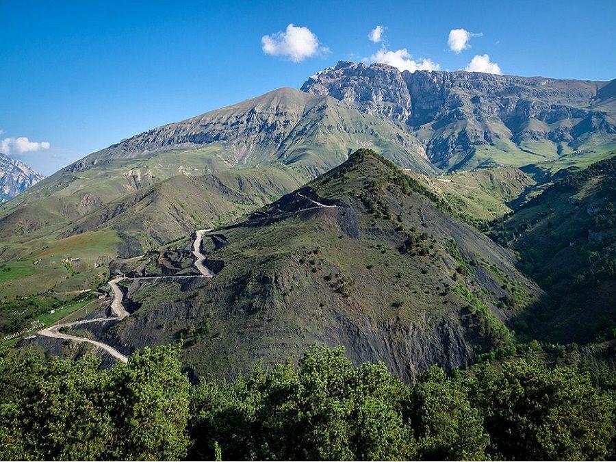 Фотография Столовой горы в Ингушетии