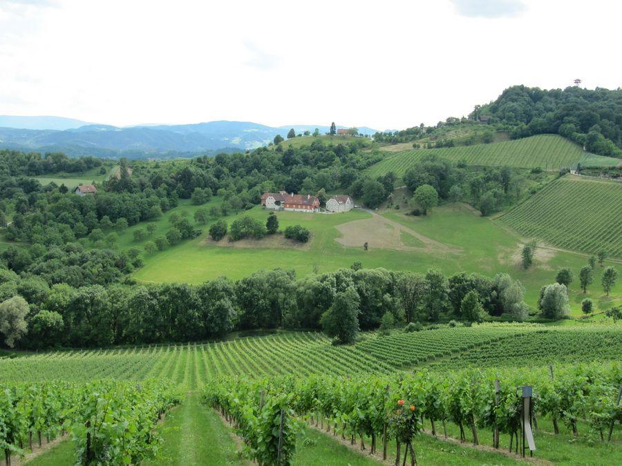 Пейзажи Штирии фото Австрии