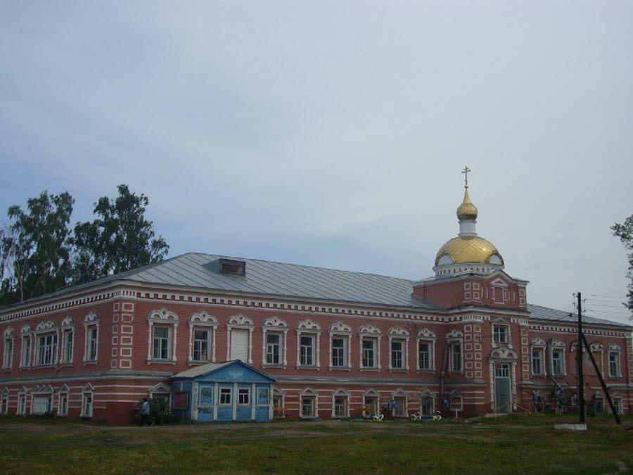 Красивый Сухотинский Знаменский Женский монастырь фото