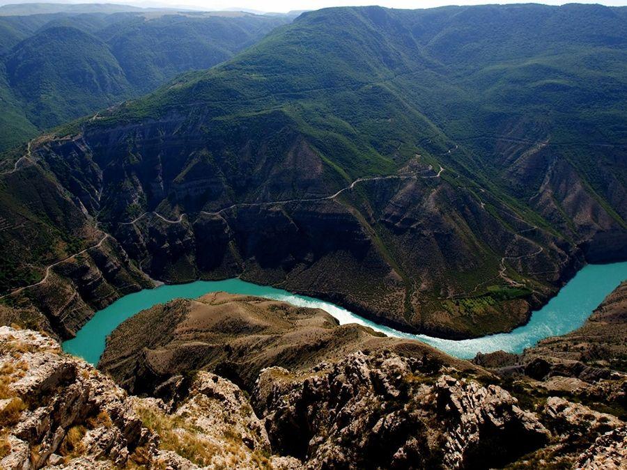 Сулакский каньон фото Дагестана