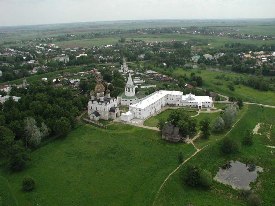 Панорама Суздальского Кремля фото