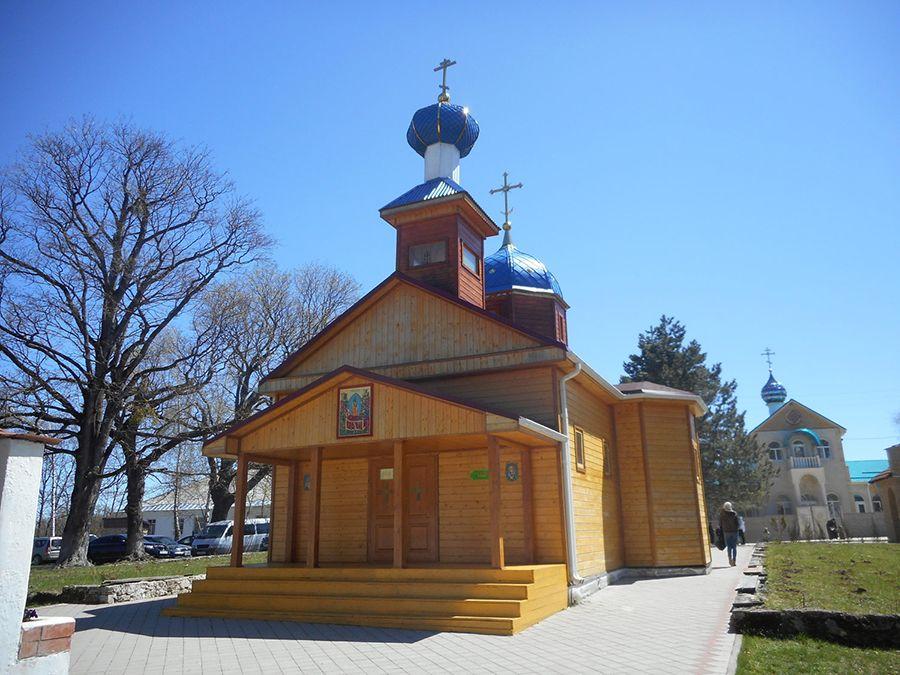 Фото храма Архангела Михаила в Свято-Михайловском Афонском мужском монастыре