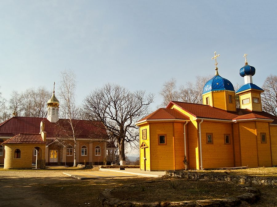 Фото сооружений Свято-Михайловского Афонского мужского монастыря
