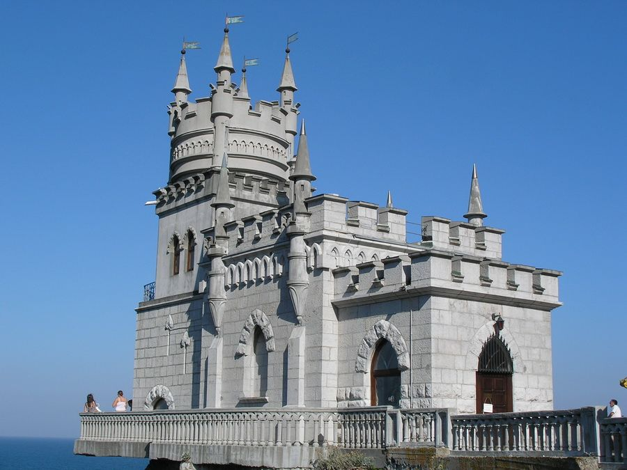 Фото дворца Ласточкино гнездо