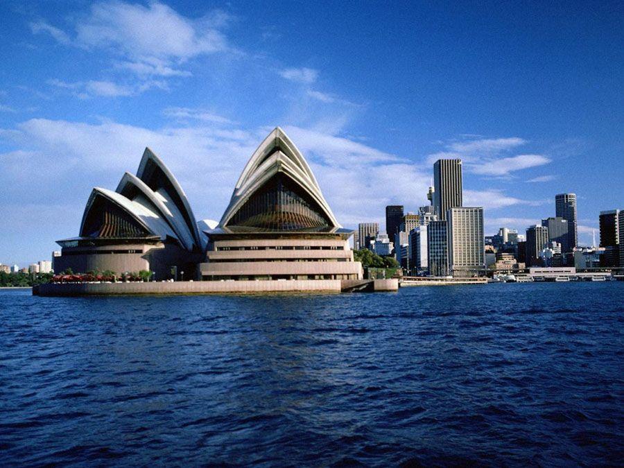 Оперный театр в Сиднее фотография
