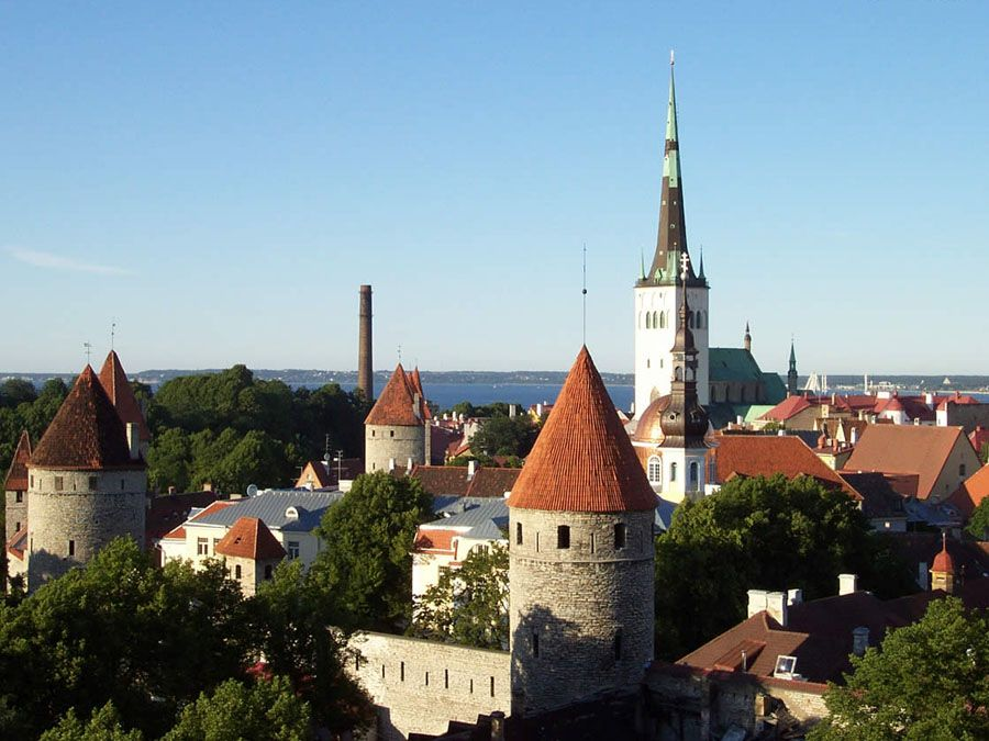 Таллин-Эстония фотография