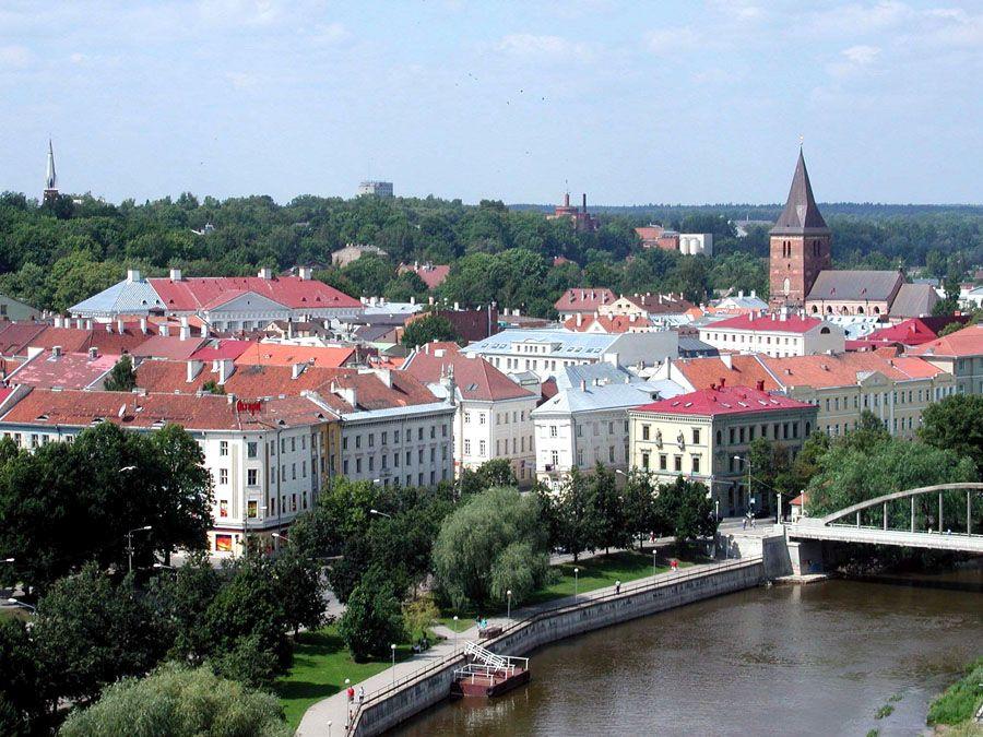 Эстонский город Тарту