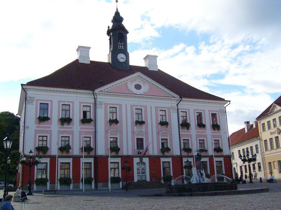 Старый Собор в Тарту Фото