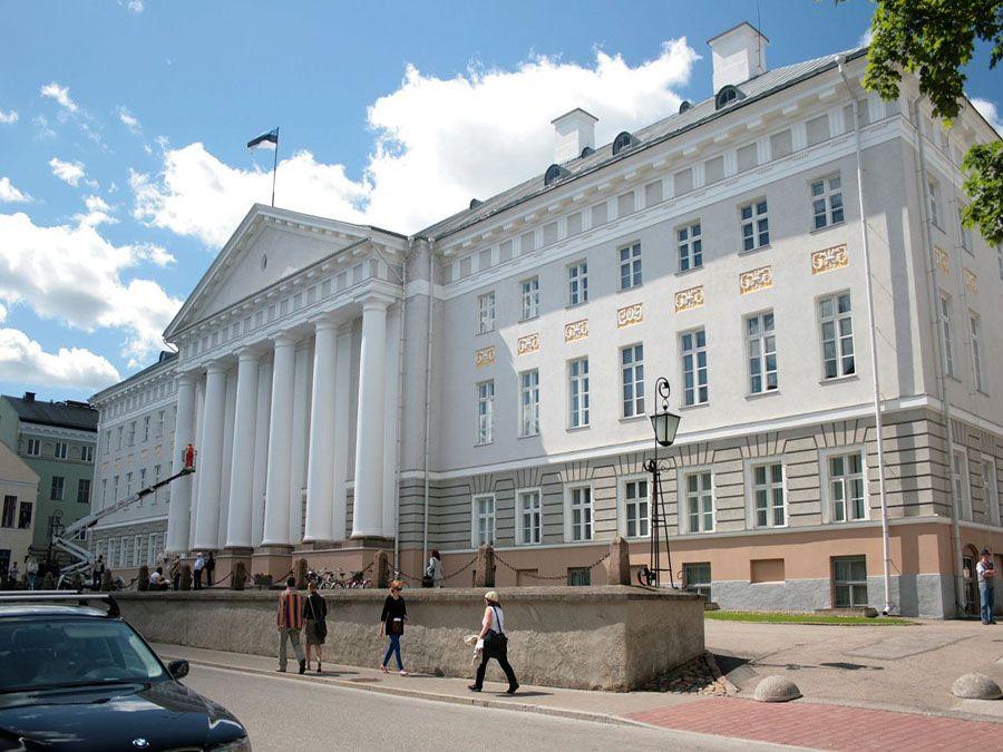Здание Университета в Тарту