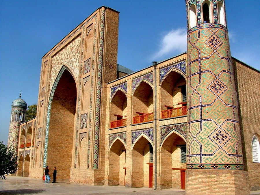 Медресе Кукельдаш в Ташкенте фото Узбекистана