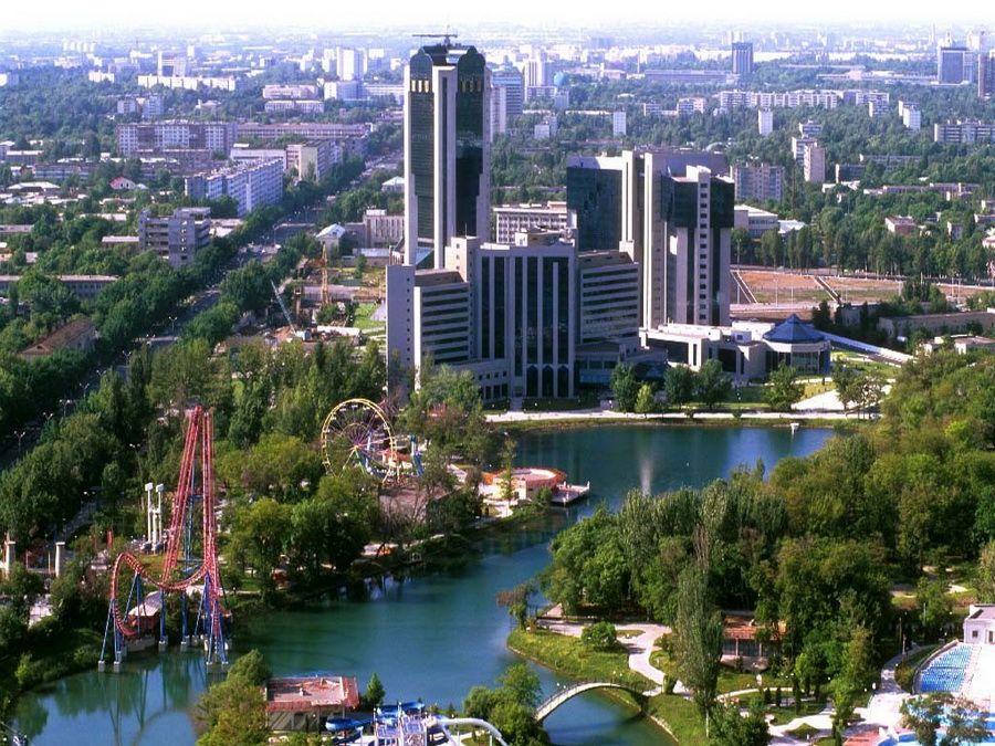 Красивый город Ташкент фото